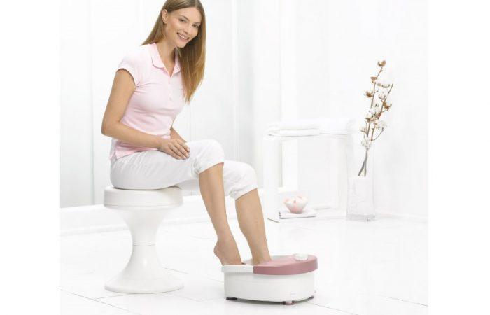 Sử dụng bồn ngâm massage chân đúng cách