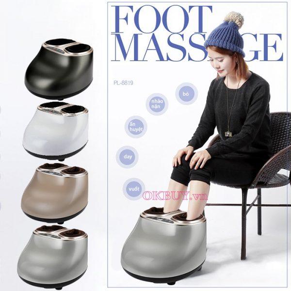 Dòng sản phẩm đến từ Hàn Quốc có chức năng massage và sưởi ấm giảm bớt các cơn đau chân cực hiệu quả